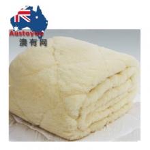 【澳洲直邮】WOOLY COOLY 羊毛毯子Queen size(153cm×203cm)两款包装随机发货