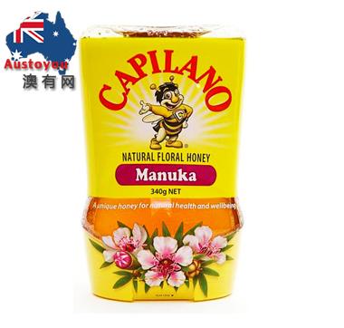 【澳洲直邮】Capilano 康蜜乐 Manuka Honey麦卢卡花蜂蜜 340g