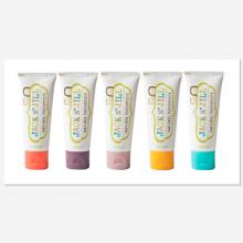 【澳洲直邮】Jack N'Jill宝宝儿童有机果味牙膏50g 可吞服不含氟(覆盆子、香蕉,蓝莓、黑醋栗)