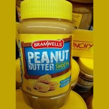 【超市代购】Bramwells peanut butter smooth香滑花生酱  500g