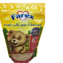 【超市代购】Farex婴儿高铁米粉/米糊辅食 纯米粉 6+ 125g