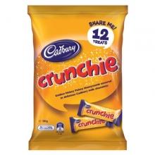 【超市代购】Cadbury吉百利crunchie蜂巢脆心巧克力12个装
