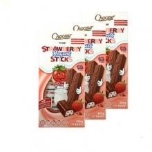 【超市代购】choceur系列牛奶/草莓棒子巧克力