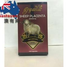 【澳洲直邮】Gorganic 纯天然羊胎素 35000mg 100粒