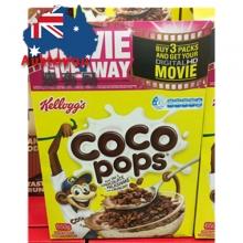 【超市代购】Kelloggs CoCo Pops 可可米儿童营养早餐麦片巧克力味 650g