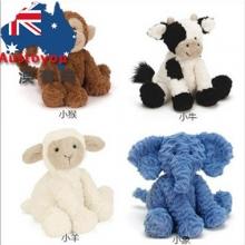 【澳洲直邮】Jelly Cat 坐姿动物毛绒玩偶 可爱玩具