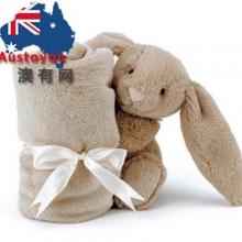 【澳洲直邮】Jelly Cat 小兔子安抚巾33cm毛绒玩偶 可爱玩具