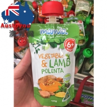 【超市代购】mamia澳洲有机水果蔬菜肉泥 口味随机 一袋装