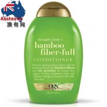 【超市代购】OGX Bamboo Fiber-full 竹子维纤 洗发水 护发素  385ml