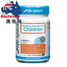 【澳有三仓】Lifespace儿童益生菌粉 60g  119元包邮,3个起115元/个包邮