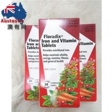 【澳洲直邮】Floradix 铁元片剂 84片