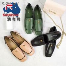 【澳洲直邮包邮】EVER UGG 21897 复古镶边方头鞋