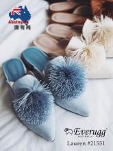 【澳洲直邮包邮】EVER UGG 21551  新款箭头流苏球时尚拖鞋