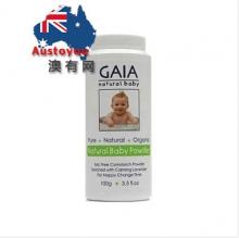 【澳有三仓】Gaia婴儿新生儿玉米有机爽身粉痱子粉儿童去痱子粉100g