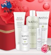 【澳有三仓】Natio 2017限量红色礼盒6件套装  260元包邮,五套255元/套包邮!