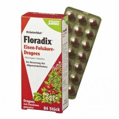 【澳洲三仓】Floradix 铁元片剂 84片  95元包邮,三个起90元