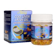 【澳洲直邮】Ausway婴幼儿鳕鱼肝油富含DHA 提高宝宝智力90粒