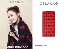【国内发货】AU197001 时髦猫围巾系列 178包邮 180cm x 45cm
