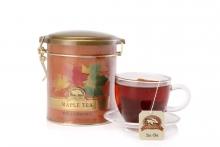 【澳有三仓】加拿大混合味枫茶包  铁听翻盖60g     价格95元包邮,两罐起86元包邮。