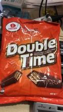【超市代购】【超市代购】澳洲doubele time 巧克力夹心饼干 196g(9小包)