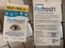 【澳洲直邮】Refresh滴眼液眼药水50支独立包装 抗疲劳无防腐剂