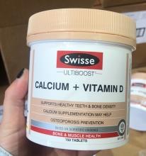 【澳洲直邮】Swisse  柠檬酸钙成人钙片+维生素D 150粒