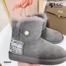 【国内发货】DK049复古小香风雪地靴  团购价:329  代理价: 339
