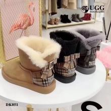 【国内发货】DK051经典英伦风蝴蝶结雪地靴 团购价:339  代理价:349