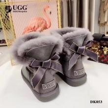 【国内发货】DK053丝绸蝴蝶结甜美雪地靴 团购价:269  代理价:  279