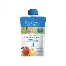 【澳洲直邮】贝拉米(Bellamy's)果泥婴幼儿有机果泥120g  4+