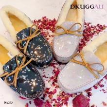 【国内发货】DA203亮片装饰豆豆鞋 团购价:219  代理价:  229
