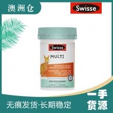 【超市代购】Swisse 儿童复合维生素咀嚼片 新包装60粒  2岁+