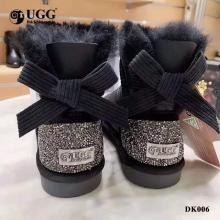 【国内发货】DK UGG DK006  防泼水奥地利水钻蝴蝶结短靴