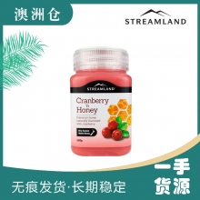 【澳洲直邮】Streamland 蔓越莓蜂蜜 500g