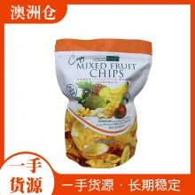 【超市代购】Crispy mixed fruit chips 混合水果干/片 200g