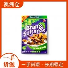 【超市代购】GoldenVale 葡萄干谷物燕麦片500g