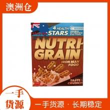 【超市代购】Kelloggs NUTRI-GRAIN 营养早餐麦片  500g
