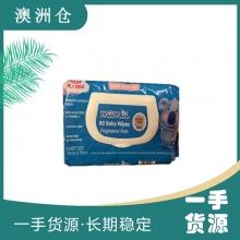 【超市代购】mamia 超柔宝宝湿巾80抽