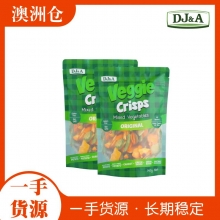 【超市代购】Veggie有机混合蔬菜干 300g