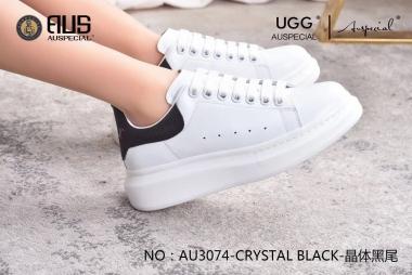 【国内发货】AU3074 经典小白鞋  注意脚瘦选小一码