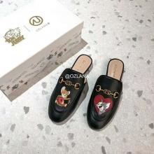 【国内发货】AU209019 心心相印穆勒鞋