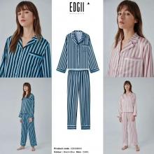 【国内发货】ED206004条纹睡衣套装