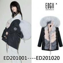 【国内发货】EDGII 皮草  ED201001----ED201020