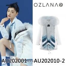 【国内发货】OZLANA 皮草  AU202001----AU202010-2